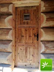 Solide Türen aus Altholz - Alldeco