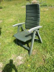 5 Gartenstühle