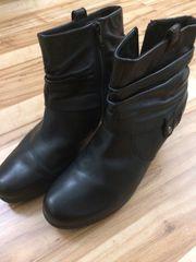 Gabor Damen Stiefel Halbstiefel schwarz