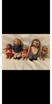 Mecki - Original Steiff Igel Familie