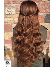 Professionelle Haarverlängerung Haarverdichtung