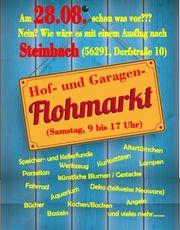 Hof- und Garagen-Flohmarkt