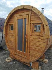 Saunafass 3 meter mit Vorraum