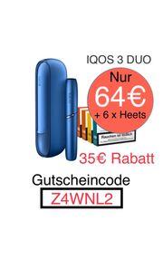 IQOS 3 DUO Inkl Heets
