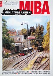 Miba Miniaturbahnen 11 93 leichte