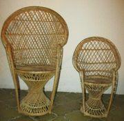 Puppen Stühle aus Holz