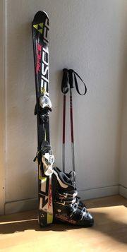 Skier Stiefel Stöcke für Kinder