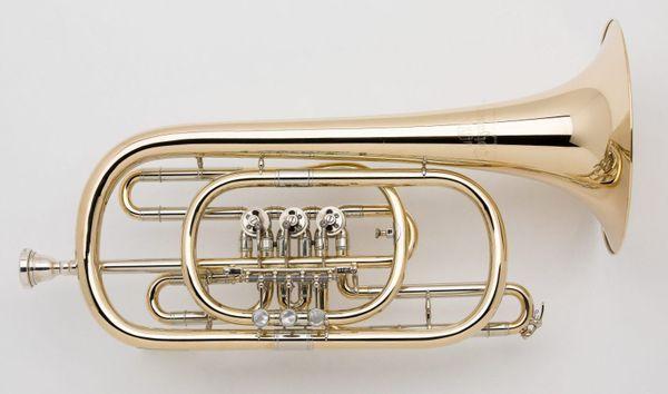 Dotzauer 3060 weite Goldmessing Basstrompete