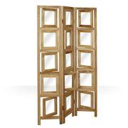 Paravent Foto Raumteiler Holz