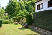 wunderschönes Gartengrundstück mit Hütte Blick