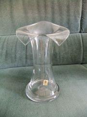 Glas Vase Fa Eisch extravagante