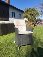 Terrassenstühle inkl Polsterauflage