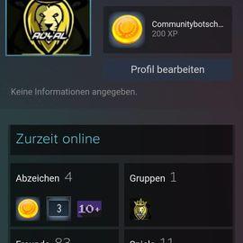Gaming Accounts - Steam account zu verkaufen