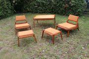 mid century Teak Hunting Chair