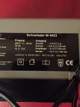 Graupner Schnell - Lader 6423 Turbo: Kleinanzeigen aus Starnberg - Rubrik Elektronik