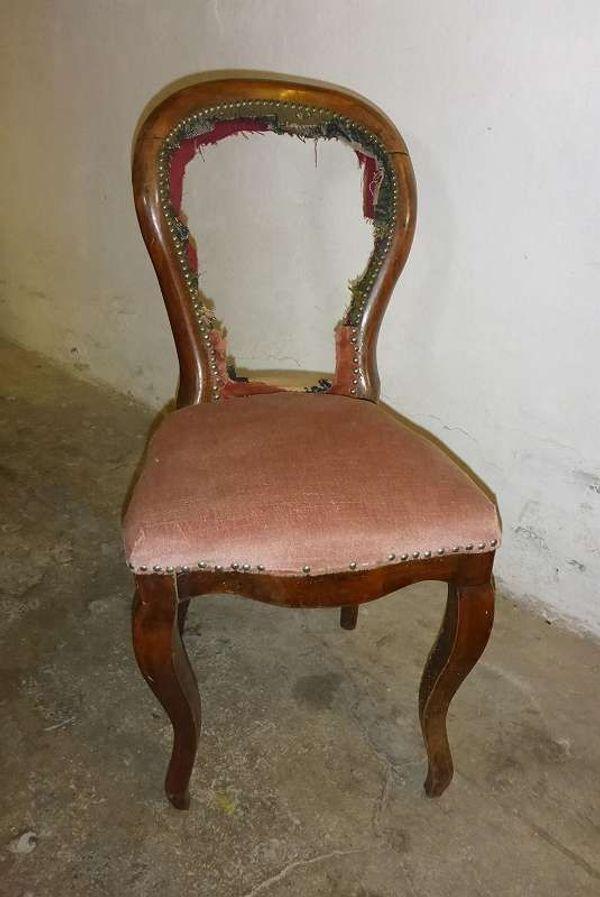 Original Barock-Sessel