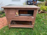 Renovierungsbedürftiger Hasenstall zu verschenken
