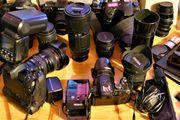 Fotoapparate Spiegelreflex Objektive Zubehör