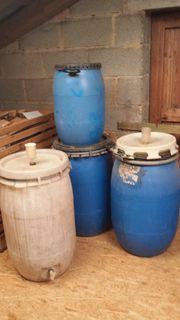 Mehrere Mostfässer 60 L 130
