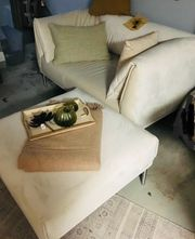 Exklusiver 2 Sitzer mit Sessel