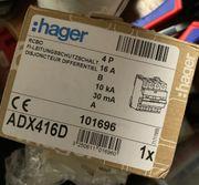 Hager ADX 416D 4poliger-Fi-LS