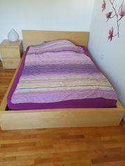 IKEA Malm Bett und Lattenrost
