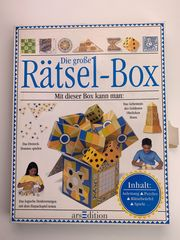 Rätselbox zum Basteln und Rätseln
