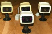 4x Überwachungskamera HAMA 5 CCTV