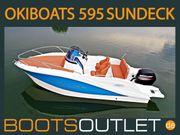 Motorboot Sportboot Okiboats 595 Sundeck