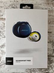 Bose Soundsport Free Navy Blue