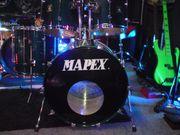 Altes 90er Mapex Saturn Kesselset
