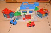 Werkstatt mit Autos - Little People