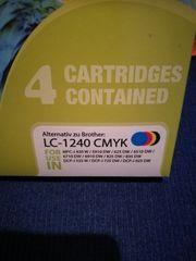 Druckerpatronen LC-1240 passend für Brother