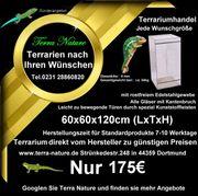 Terrarium 60x60x120cm LxTxH Terrarium Hersteller