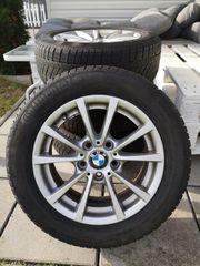 BMW 3er Winterreifen auf Alufelgen