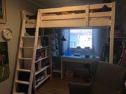 Hochbett IKEA mit Matratze