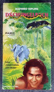 Dschungelbuch VHS Video Rudyard Kipling