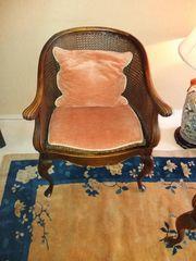 2 Sessel mit Wiener Geflecht
