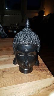 1 Buddha Kopf schwarz
