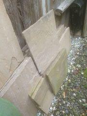 Sandstein Platten
