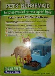 Futterautomat Futtermaschine für Katze Hund