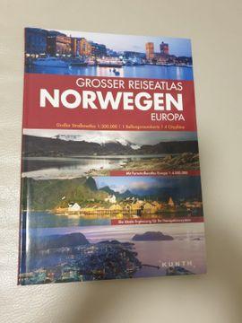 Norwegen und Europa - großer Reiseatlas