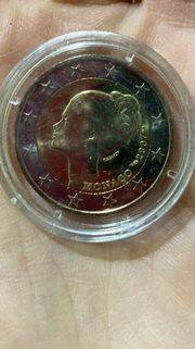 2 Euro Münze Monaco 2007