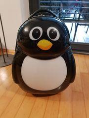 Koffer Trolley Pinguin für Kinder