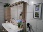 Badezimmermöbel Serie Vancouver Spiegelschrank Waschtisch