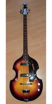 Bassgitarre Rarität Violinbass Sixties