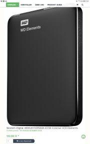 Beschreibung External HDD Elements Portable