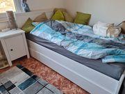 IKEA BRUSALI Bett komplett mit