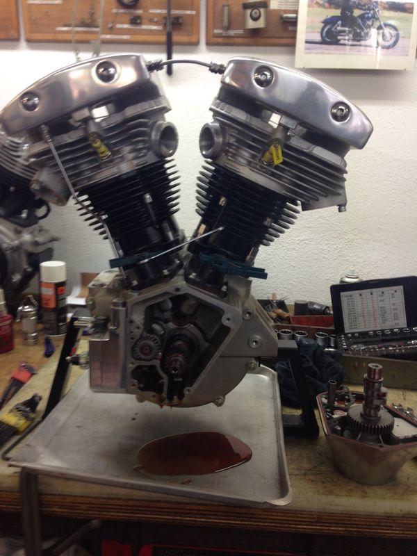 S S Shovelhead-Motor 1440ccm