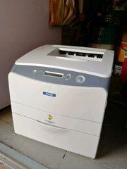Sparsamer Farb- Laserdrucker Epson AcuLaser